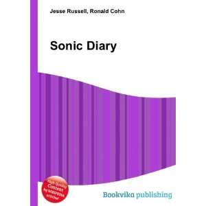 Sonic Diary Ronald Cohn Jesse Russell Books