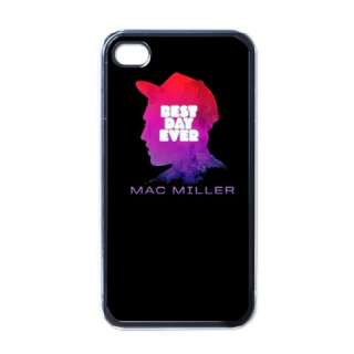 NEW MAC MILLER Rap Music T Shirt Hi iPhone 4 CASE BLACK NICE GIFT