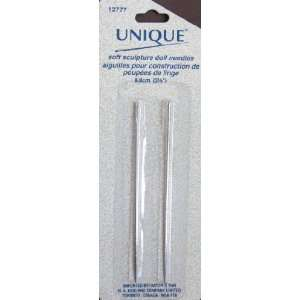 Unique Soft Sculpture Doll Needles 3 1/2 Long   Pack of 2