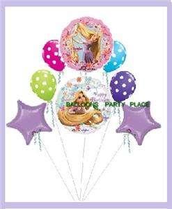 DISNEY RAPUNZEL TANGLED birthday party balloon supplies