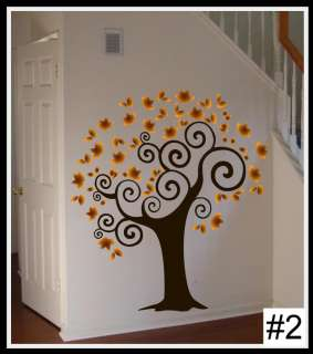 Wall Decal TREE Deco Art Sticker Mural AMAZING COLORS