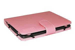 New  Kindle and Kindle touch Synthetic Leather Case Cover Pink