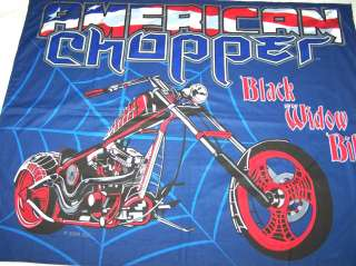 American Chopper Black Widow FINISHED Wallhanging