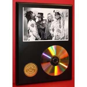 Motley Crue 24kt Gold CD Disc Display   Musician Art   Award Quality