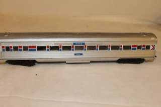 Amtrak HO Train Set Con Cor Locomotive w/ 8 Athearn Streamline
