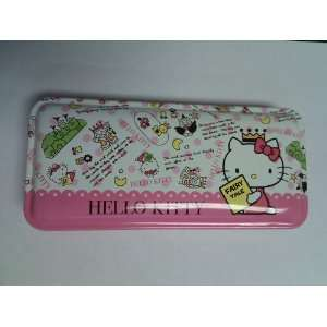 Lovely Pink Hello Kitty Pencil Box