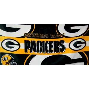 Green Bay Packers Logo Style NFL Fiber Reactive Pool/Beach