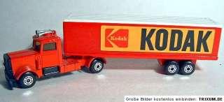 Matchbox TP24 Peterbilt Box Truck KODAK red pre pro