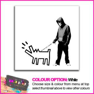 Choose Your Weapon Dog URBAN GRAFFITI  16 Colours / Many Sizes