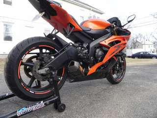 Yamaha R6 FMF APEX carbon fiber ti race exhaust slip on 06 07 08 09 10