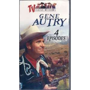 Gene Autrey 4 Episodes : Tv Classic Westerns: Movies & TV