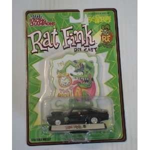 Rat Fink Black Die Cast Car Toys & Games