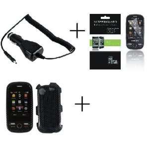 SAMSUNG MESSAGER TOUCH R630 Carbon Fiber Premium Designer
