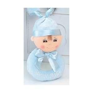 Bearington Baby   Sweet Baby Boy Rattle: Baby