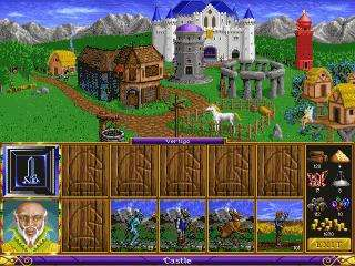 Heroes of Might & Magic MAC CD classic role playing fantasy combat