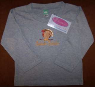 Gobble Gobble Thanksgiving Day Turkey Long Sleeve Baby & Toddler Shirt
