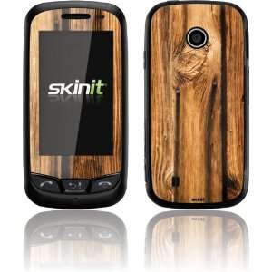Skinit Glazed Wood Grain Vinyl Skin for LG Cosmos Touch