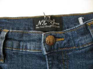 NYDJ Not Your Daughters Jeans Tummy Tuck Jewel Pocket Boot Cut Jeans