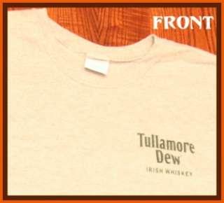 Tullamore Dew Irish Whiskey T Shirt L