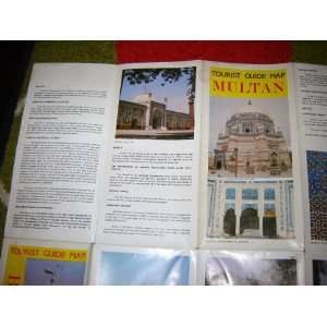 Tourist Guide Map of MULTAN and BAHAWALPUR cities of Pakistan