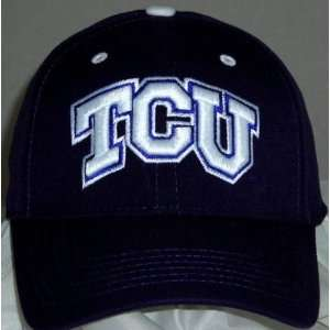 TCU Horned Frogs Wool Team Color One Fit Hat Sports