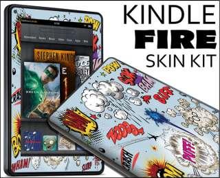 Kindle Fire Skin Vinyl Decal eBook Netbook Tablet #150 Comic