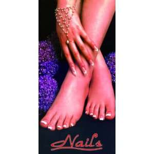 Nail Salon Window Decal Poster 4 x 2 ft, NWP 6