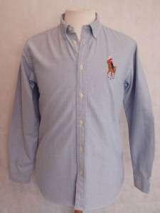 Polo Ralph Lauren Boys Designer Big Pony Oxford Long Sleeve Shirt 0 16