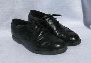 Deer Stags Tribune Black Leather Dress Shoes, Mens Size 10 M