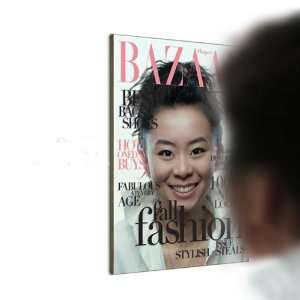 BAZAAR Magazine?Cover Model Novelty Mirror Home & Kitchen