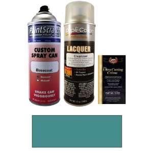 Medium Aqua Metallic Spray Can Paint Kit for 2010 Toyota Camry (8U8