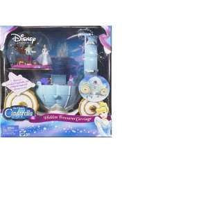 Princess CINDERELLA Hidden Treasures Carriage MATTEL Toys & Games