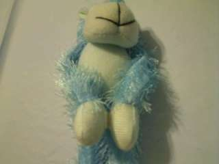 ORIENTAL TRADING COMPANY AQUA BLUE MONKEY PLUSH TOY