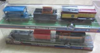 THOMAS AND FRIENDS TRACKMASTER MOTORIZED TRAIN DART & DEN