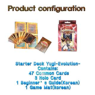 Yu Gi Oh Official Card Starter Deck Yugi Evolution