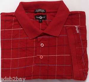 Top Flite ~ Mint Mens Casual Polo Golf Shirt L