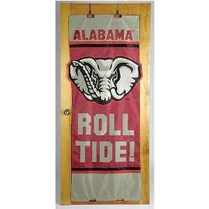 Alabama Crimson Tide NCAA Door Flag by New Creative