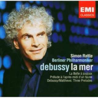 Debussy, Colin Matthews, Simon Rattle, Berlin Philharmonic Orchestra