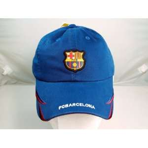FC BARCELONA OFFICIAL TEAM LOGO CAP / HAT   FCB032 Sports