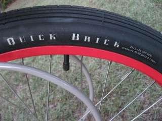 New Belgium Brewery Felt Cruiser Bicycle Fat Tire Bike #409