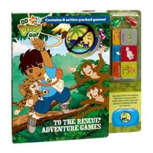 Go Diego Go Adventure Board Game Book Toys & Games