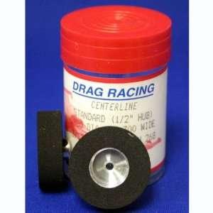 Wide, .980 Diameter, 3/32 Axle Drag Racing Tires (Slot Toys & Games