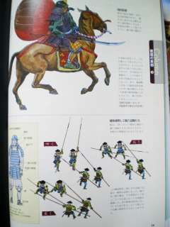 Japanese Sword Samurai yari Armor battle of Book Civil English