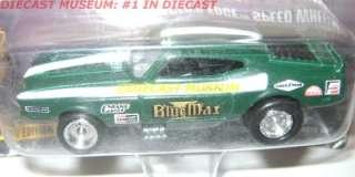 1971 71 MUSTANG BLUE MAX RAYMOND BEADLE JL DIECAST