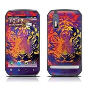 Thermal Tiger Design Decorative Skin Cover Decal Sticker