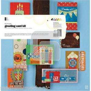 Life of the Party   Basic Grey Card Kit  NIP free ship