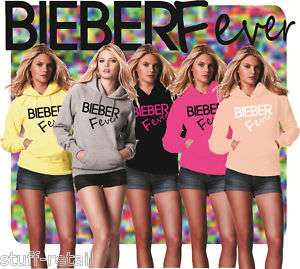 JUSTIN BIEBER FEVER FASHION DESIGN HOODIE HOODY TOP NEW