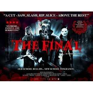 The Final Movie Poster (30 x 40 Inches   77cm x 102cm) (2010