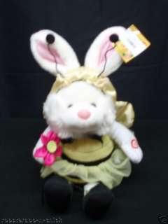 Animated Singing Bunny Rabbit Bee Be My Baby Easter NIB