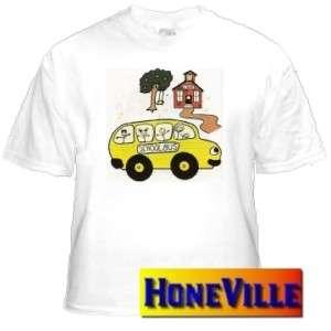 shirt sweatshirt SCHOOL house teacher teach BUS o65